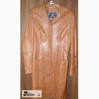 Пальто из натуральной кожи женское Napujin в Москве