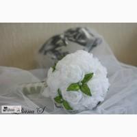 Букет невесты (дублер) Белые Пионы ручная работа в Москве