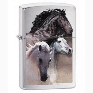 Зажигалка Zippo 79236 Galloping Horses