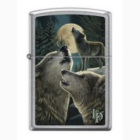 Зажигалка Zippo 9288 Parker Wolves and Moon