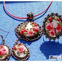 Эксклюзивные украшения. Вышивка шелковым в Калининграде