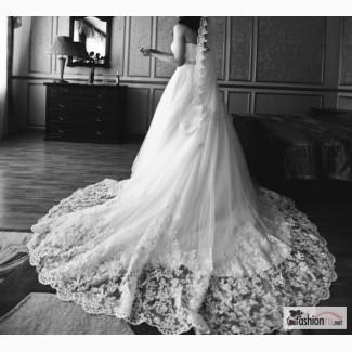 Свадебное платье MILA NOVA А-силуэт, со шлейфом в Оренбурге