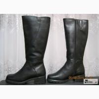 Новые кожаные демисезонные сапоги фирмы в Чебоксарах